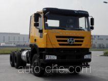 SAIC Hongyan CQ3256HXVG42-504 dump truck chassis