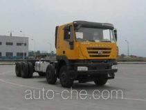 SAIC Hongyan CQ3315HXG42-486 dump truck chassis