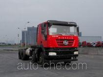 红岩牌CQ3316HMDG30-366型自卸汽车底盘