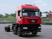 红岩牌CQ3316HTDG30-366型自卸汽车底盘