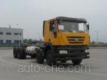 SAIC Hongyan CQ3316HTG486TB dump truck chassis