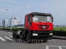 SAIC Hongyan CQ3316HXVG30-366 dump truck chassis