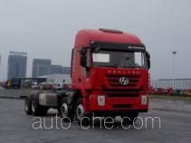 SAIC Hongyan CQ3316HXVG39-486 dump truck chassis