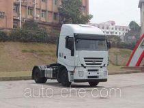 SAIC Hongyan CQ4184HTVG351VC container transport tractor unit