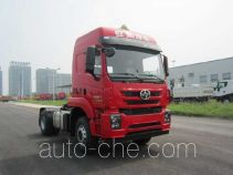 SAIC Hongyan CQ4185ZTVG361U dangerous goods transport tractor unit