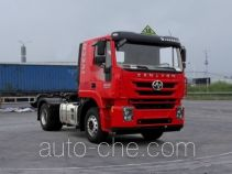 SAIC Hongyan CQ4186HMDG361U dangerous goods transport tractor unit