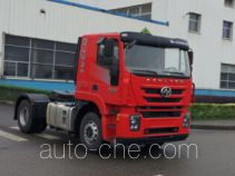 SAIC Hongyan CQ4186HMVG361U dangerous goods transport tractor unit