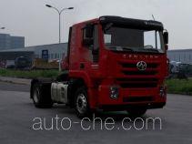 红岩牌CQ4186HTDG361C型集装箱半挂牵引车