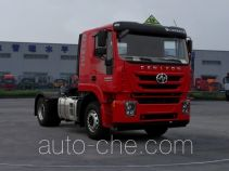 SAIC Hongyan CQ4186HTDG361U dangerous goods transport tractor unit