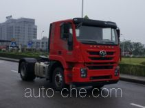 SAIC Hongyan CQ4186HTVG361U dangerous goods transport tractor unit