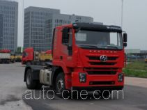 SAIC Hongyan CQ4186HXVG361C container carrier vehicle