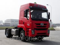 SAIC Hongyan CQ4186ZMVG361U dangerous goods transport tractor unit