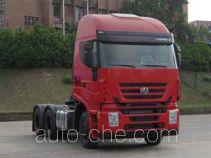 SAIC Hongyan CQ4254HTVG323C container transport tractor unit