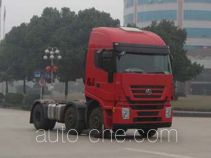 SAIC Hongyan CQ4254HTWG273VC container transport tractor unit