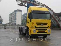 SAIC Hongyan CQ4254HTWG324VC container transport tractor unit
