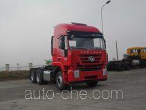 SAIC Hongyan CQ4255HTDG334C container carrier vehicle