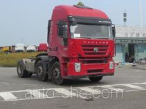 SAIC Hongyan CQ4255HTVG273U dangerous goods transport tractor unit
