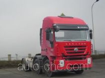 SAIC Hongyan CQ4255HXDG273U dangerous goods transport tractor unit
