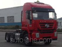 SAIC Hongyan CQ4255HXDG334U dangerous goods transport tractor unit