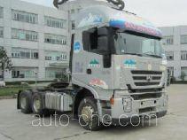 SAIC Hongyan CQ4255HXG334C container transport tractor unit