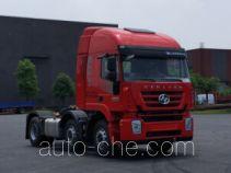 红岩牌CQ4256HMDG273C型集装箱半挂牵引车