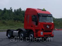 SAIC Hongyan CQ4256HMDG273U dangerous goods transport tractor unit