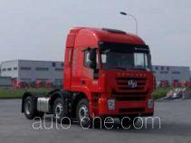 红岩牌CQ4256HMVG273C型集装箱半挂牵引车
