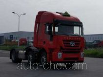 SAIC Hongyan CQ4256HMVG273U dangerous goods transport tractor unit