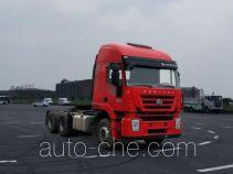 SAIC Hongyan CQ4256HTDG334 tractor unit