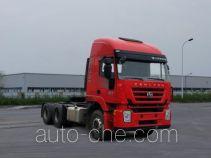 红岩牌CQ4256HTDG334C型集装箱半挂牵引车