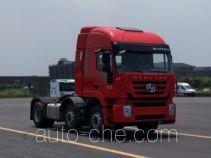 红岩牌CQ4256HXDG273C型集装箱半挂牵引车