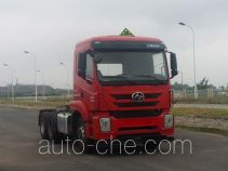 SAIC Hongyan dangerous goods transport tractor unit