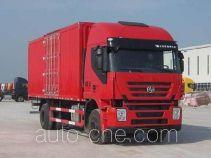 SAIC Hongyan CQ5165XXYHMG561 box van truck