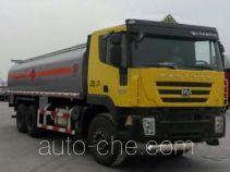 SAIC Hongyan CQ5254GJYHMG434 fuel tank truck