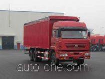 SAIC Hongyan CQ5254XXYSTHG494P soft top box van truck