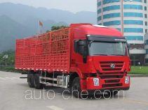 SAIC Hongyan CQ5255CCYHTG594 stake truck