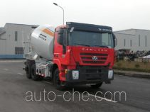 红岩牌CQ5255GJBHTG444型混凝土搅拌运输车