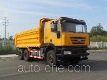 SAIC Hongyan CQ5255ZLJHMVG404L dump garbage truck