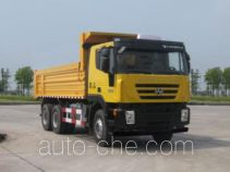 SAIC Hongyan CQ5255ZLJHTDG384L dump garbage truck