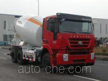 红岩牌CQ5256GJBHTG424TB型混凝土搅拌运输车