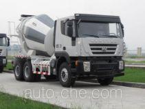 红岩牌CQ5256GJBHTG444TB型混凝土搅拌运输车