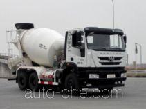 红岩牌CQ5256GJBHTVG334型混凝土搅拌运输车