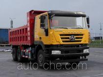 SAIC Hongyan CQ5256ZLJHTDG384BS dump garbage truck
