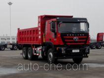 红岩牌CQ5256ZLJHTDG384L型自卸式垃圾车