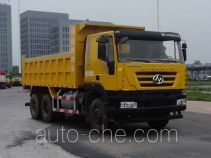 SAIC Hongyan CQ5256ZLJHTDG404L dump garbage truck
