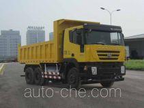 SAIC Hongyan CQ5256ZLJHTG384TB dump garbage truck