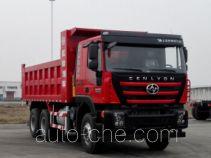 SAIC Hongyan CQ5256ZLJHTVG384L dump garbage truck