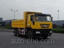 SAIC Hongyan CQ5256ZLJHXVG384L dump garbage truck