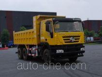 SAIC Hongyan CQ5256ZLJHXVG384S dump garbage truck