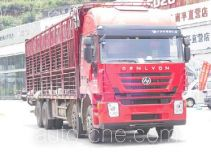 SAIC Hongyan CQ5314CCQHMG466 livestock transport truck